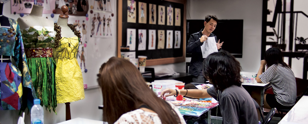 Fashion Design Class @ Navamin Branch