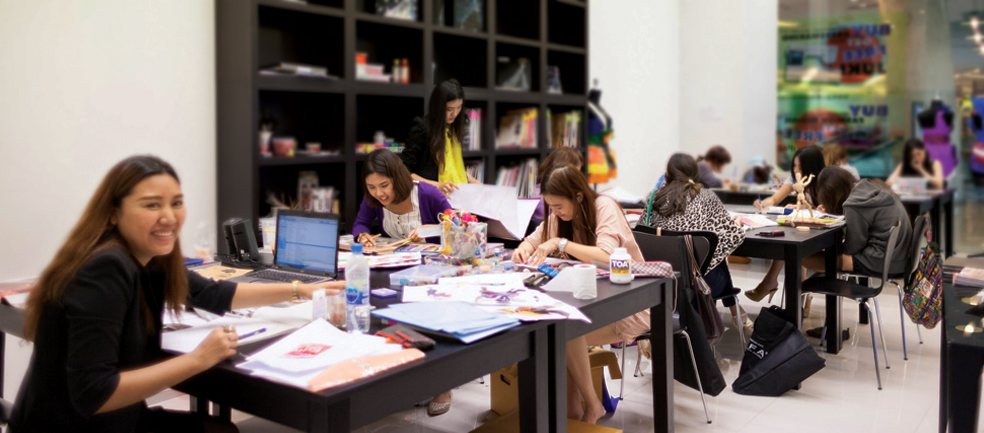 Fashion Design Class @ Esplanade Branch